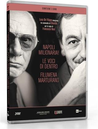 Cofanetto Luca De Filippo - Napoli Milionaria! / Le voci di dentro / Filumena Marturano (3 DVDs)