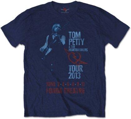 Tom Petty & The Heartbreakers Unisex T-Shirt - Fonda Theatre (Soft Hand Inks)