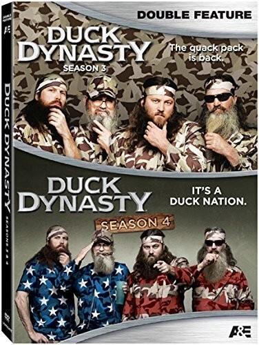 Duck Dynasty - Season 3 & 4 (4 DVDs)