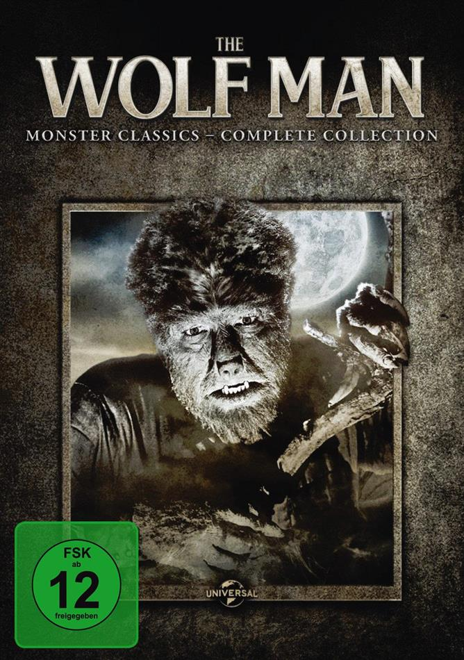 The Wolf Man (Monster Classics - Complete Collection, s/w, 6 DVDs)