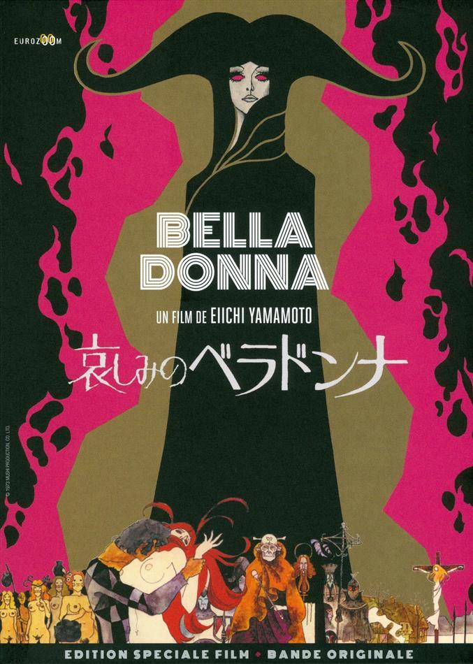 Belladonna (1973) (Digibook, Restaurierte Fassung, Special Edition, Blu-ray + DVD + CD)