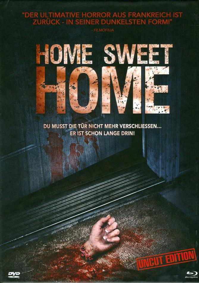 Home Sweet Home (2013) (Limited Edition, Mediabook, Uncut, Blu-ray + DVD)
