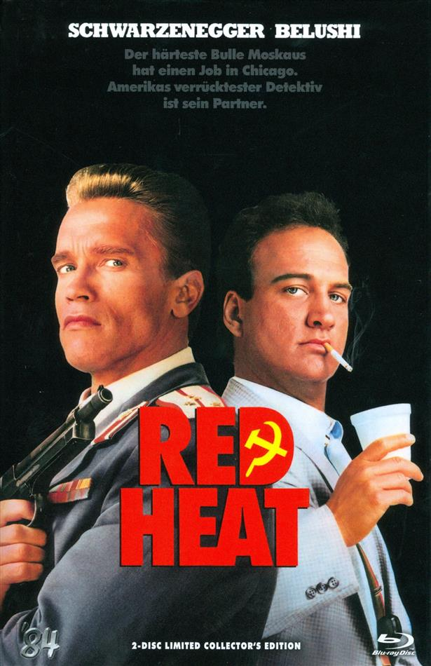 Red Heat (1988) (Grosse Hartbox, Cover A, Collector's Edition, Limited Edition, Uncut, Blu-ray + DVD)
