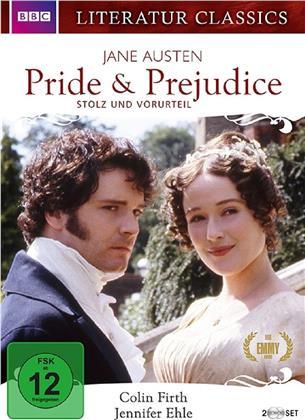 Pride & Prejudice (1995) (Literatur Classics, BBC, 2 DVDs)