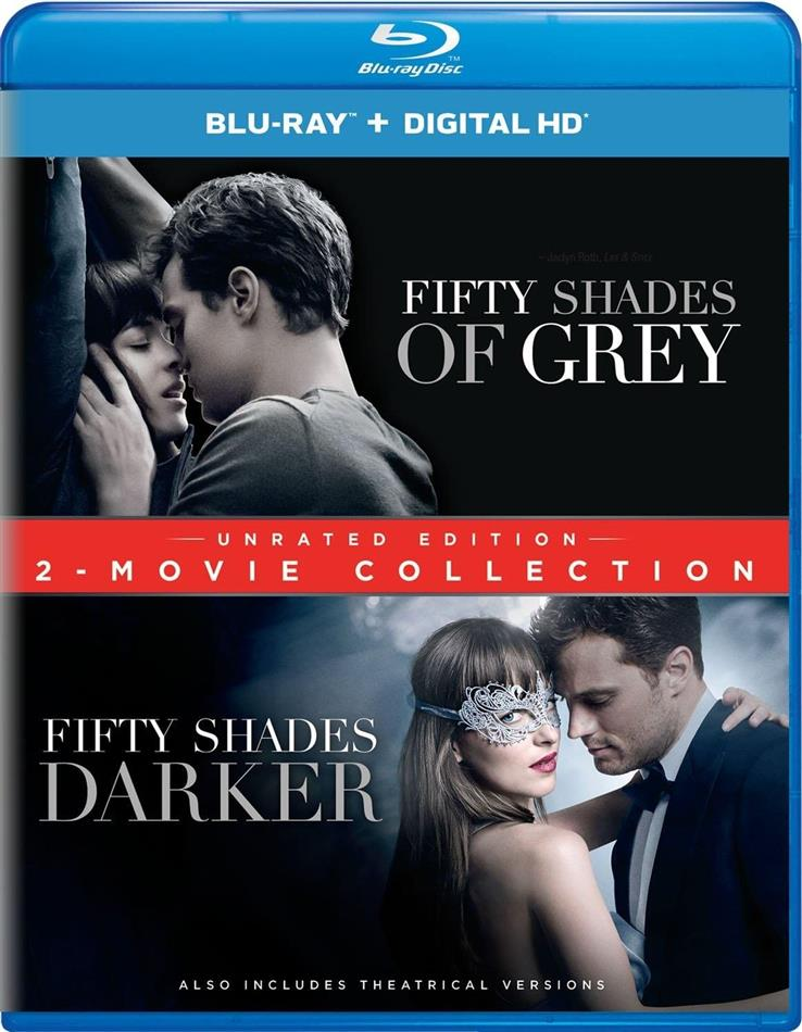 Fifty Shades of Grey / Fifty Shades Darker (2-Movie Collection, Unrated, 2 Blu-ray)