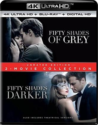 Fifty Shades of Grey / Fifty Shades Darker (2-Movie Collection, Unrated, 2 4K Ultra HDs + 2 Blu-ray)