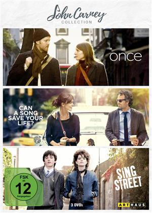 John Carney Collection - Once / Can a Song save a Life? / Sing Street (Arthaus, 3 DVDs)