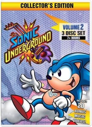 Sonic Underground - Volume 2 (Édition Collector, 3 DVD)