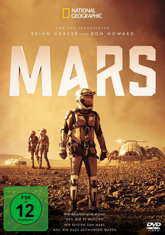 Mars (National Geographic, 3 DVDs)