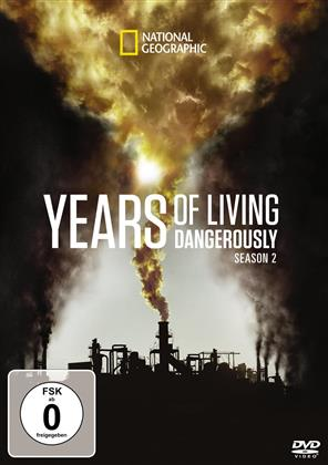 Years of Living Dangerously - Staffel 2 (National Geographic, 3 DVD)