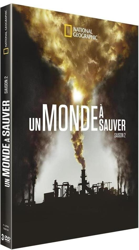 Un monde à sauver - Saison 2 (National Geographic, 3 DVD)