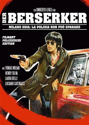 Der Berserker - Milano odia: La polizia non può sparare (1974) (Filmart Polizieschi Edition, Limited Edition, Uncut, Blu-ray + DVD)