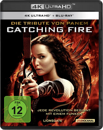 Die Tribute von Panem - Catching Fire (2013) (4K Ultra HD + Blu-ray)
