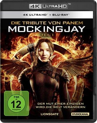Die Tribute von Panem 3 - Mockingjay - Teil 1 (2014) (4K Ultra HD + Blu-ray)