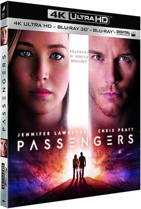 Passengers (2016) (4K Ultra HD + Blu-ray 3D + Blu-ray)