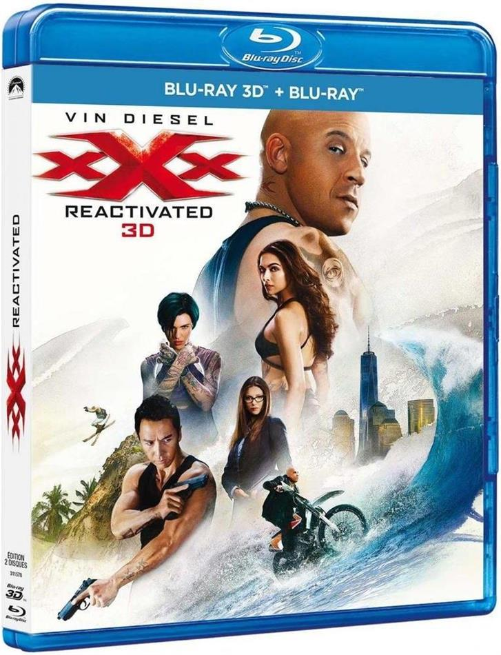 xXx - Triple X 3 - Reactivated (2017) (Blu-ray 3D + Blu-ray)