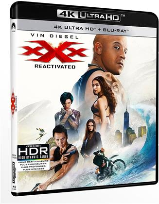 xXx - Triple X 3 (2017) (4K Ultra HD + Blu-ray)