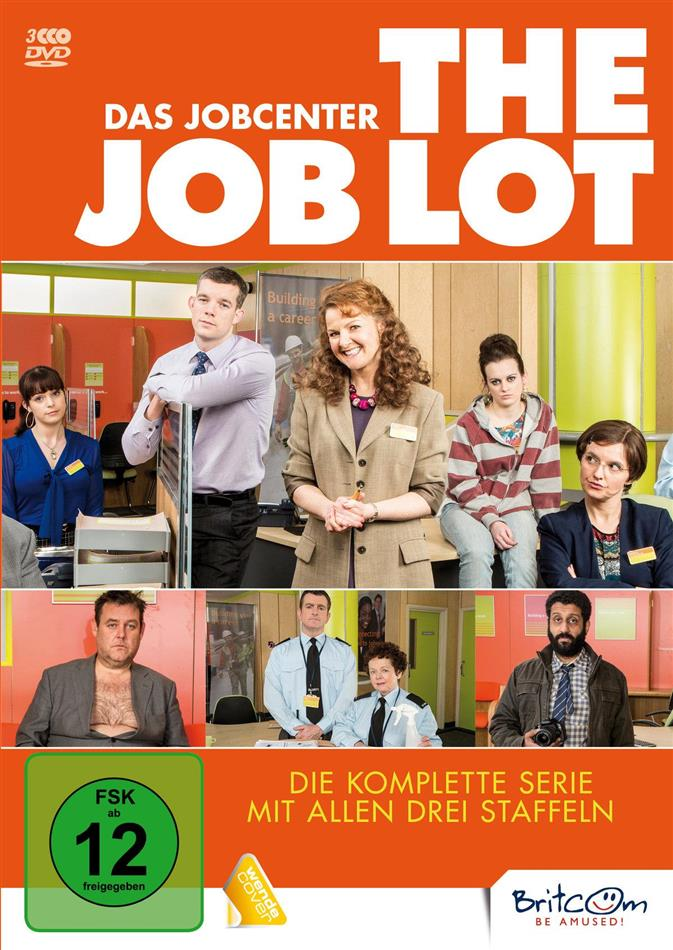 The Job Lot - Das Jobcenter - Die komplette Serie (3 DVDs)