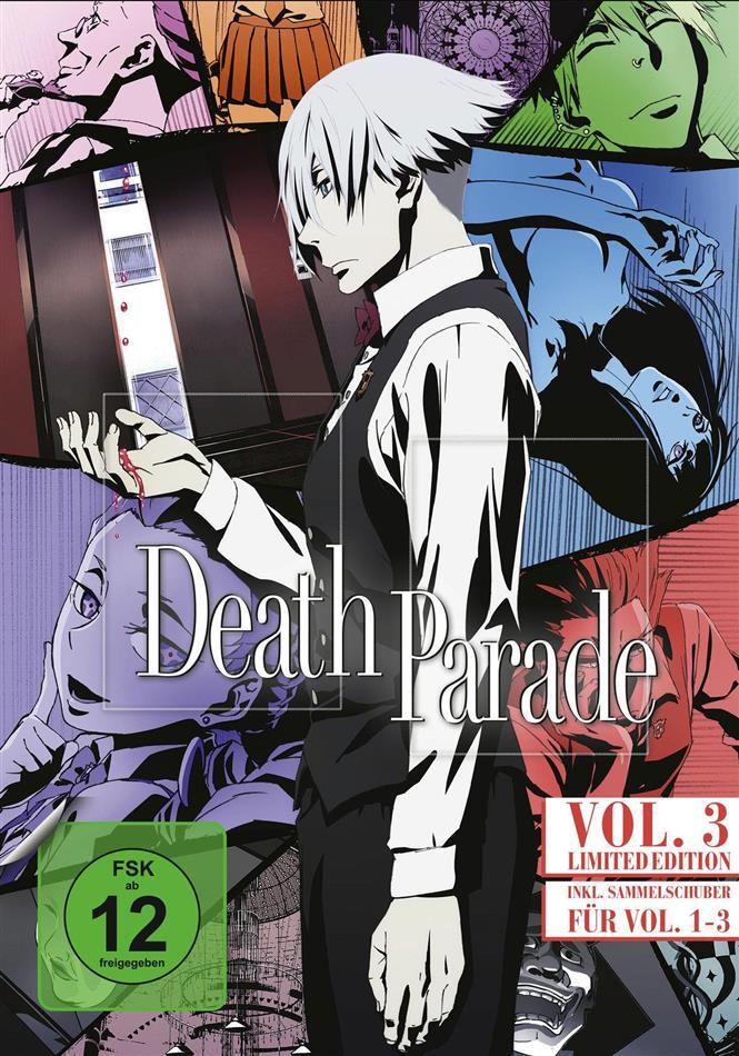 Death Parade - Staffel 1 - Vol. 3 (+ Sammelschuber, Limited Edition)