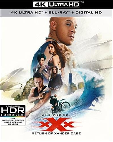 Xxx: Return of Xander Cage (2017) (4K Ultra HD + Blu-ray)