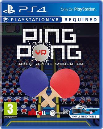 VR Ping Pong - Table Tennis Simulator