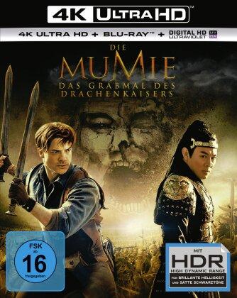 Die Mumie 3 - Das Grabmal des Drachenkaisers (2008) (4K Ultra HD + Blu-ray)