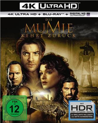 Die Mumie 2 - Die Mumie kehrt zurück (2001) (4K Ultra HD + Blu-ray)
