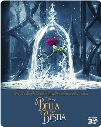 La Bella e la Bestia (2017) (Edizione Limitata, Steelbook, Blu-ray 3D + Blu-ray)
