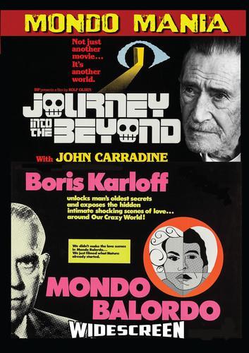 Journey Into the Beyond / Mondo Balordo (Mondo Mania, Double Feature) - John Carradine & Boris Karloff