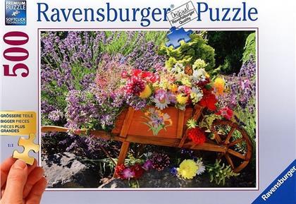 Blumenarrangement - 500 Teile Puzzle