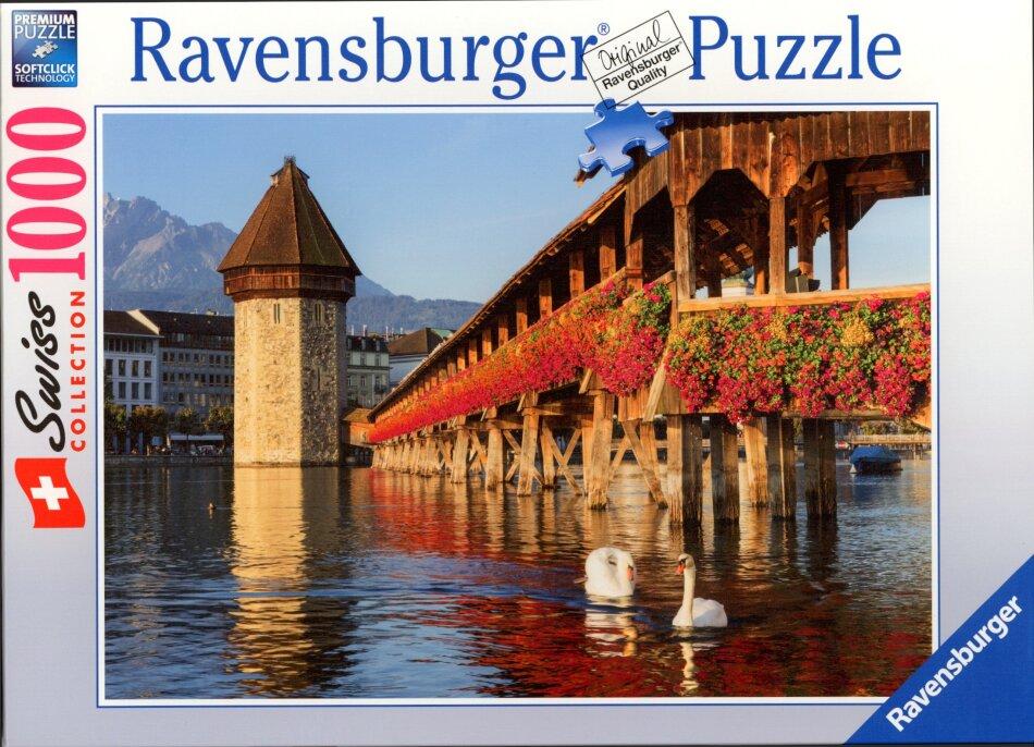 Luzern Kapellbrücke - Puzzle