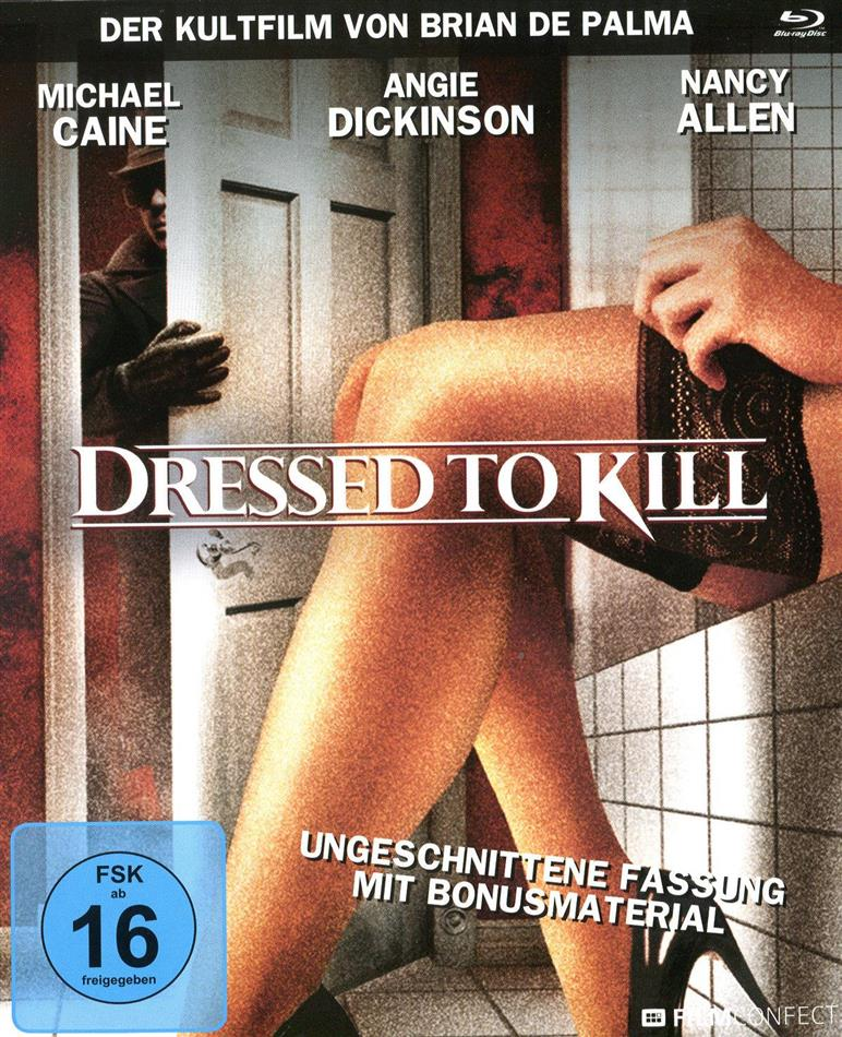 Dressed to Kill (1980) (Filmconfect Essentials, Digibook, Uncut)