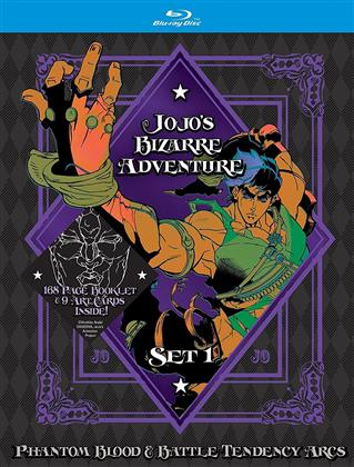 Jojo's Bizarre Adventure - Set 1 - Phantom Blood & Battle Tendency Arcs (Limited Edition, 4 Blu-rays)
