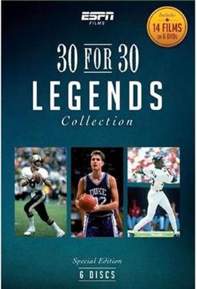 ESPN Films 30 for 30 - Legends Collection (6 DVDs)
