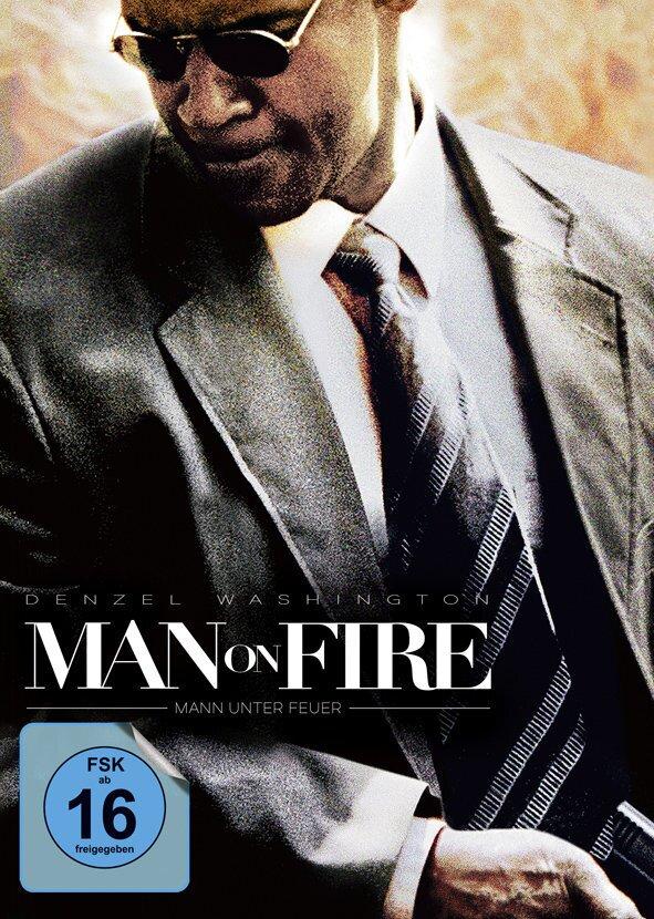 Man on Fire - Mann unter Feuer (2004) (Cover A, Limited Edition, Mediabook, Uncut, Blu-ray + DVD)