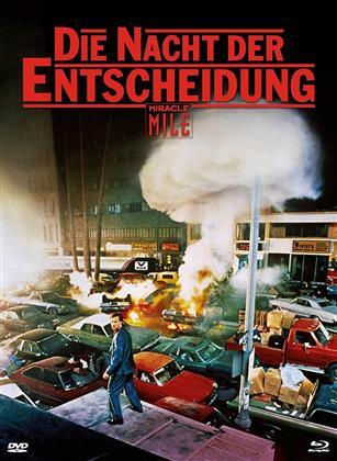 Die Nacht der Entscheidung - Miracle Mile (1988) (Cover A, Edizione Limitata, Mediabook, Uncut, Blu-ray + DVD)