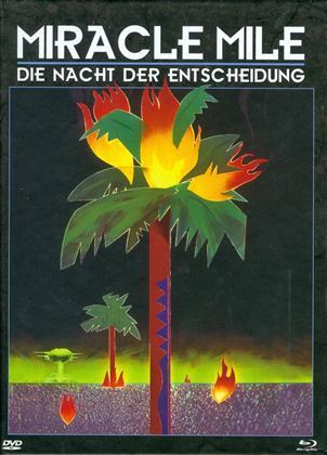 Miracle Mile - Die Nacht der Entscheidung (1988) (Cover B, Edizione Limitata, Mediabook, Uncut, Blu-ray + DVD)