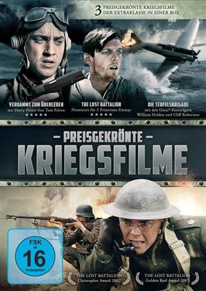 Preisgekrönte Kriegsfilme (3 DVDs)