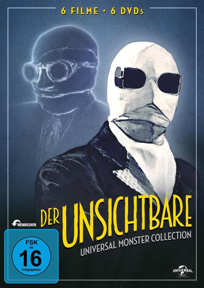 Der Unsichtbare (Universal Monster Collection, s/w, 6 DVDs)