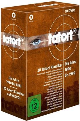 Tatort - 90er Komplettbox - Die Jahre 1990 - 1999 (10 DVDs)