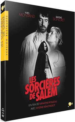 Les sorcières de Salem (1957) (Collection Version restaurée par Pathé, Version restaurée 2K, s/w, Blu-ray + DVD)