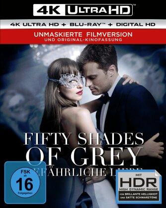Fifty Shades of Grey 2 - Gefährliche Liebe (2017) (Unmaskierte Filmversion, Extended Edition, Versione Cinema, 4K Ultra HD + Blu-ray)