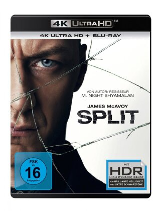 Split (2016) (4K Ultra HD + Blu-ray)
