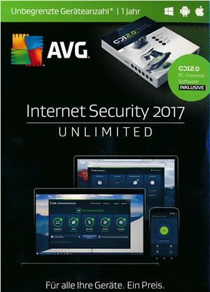 AVG Internet Security 2017 Sommer E. - [unb. Lizenzen] [PC/Mac/Android]