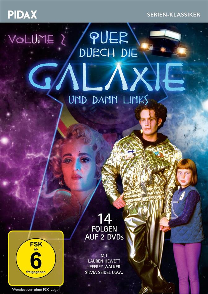 Quer durch die Galaxie und dann links - Vol. 2 (Pidax Serien-Klassiker, 2 DVDs)