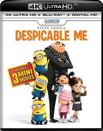 Despicable Me (2010) (includes 3 Mini Movies, 4K Ultra HD + Blu-ray)