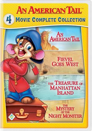 An American Tail (4 Movie Complete Collection, 2 DVDs)