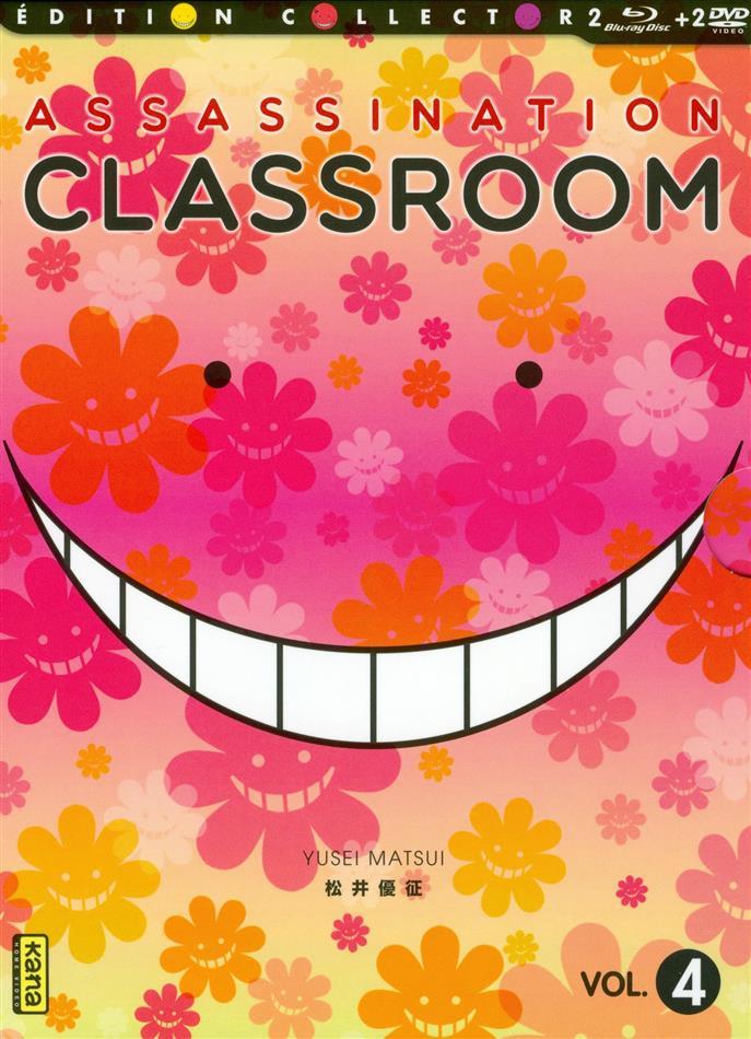 Assassination Classroom - Vol. 4 (Saison 2.2) (Collector's Edition, 2 Blu-rays + 2 DVDs)