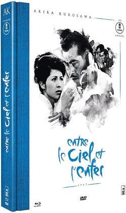 Entre le ciel et l'enfer (1963) (Collection Akira Kurosawa - Les années Tōhō, Version inédite, s/w, Limited Edition, Mediabook, Restaurierte Fassung, Blu-ray + DVD)