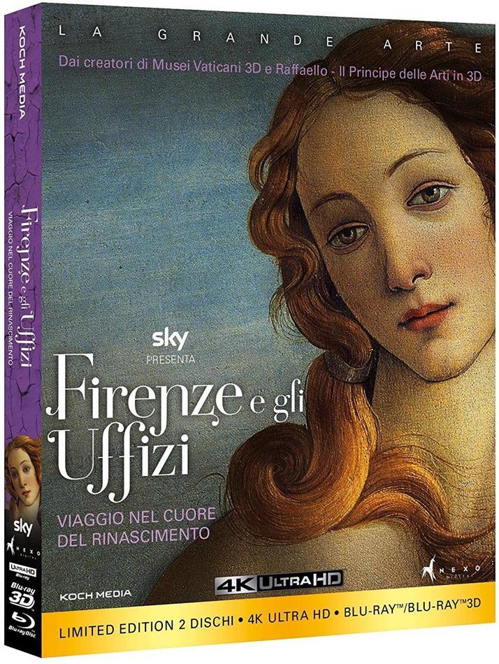 Firenze e gli Uffizi (4K Ultra HD + Blu-ray 3D (+2D))